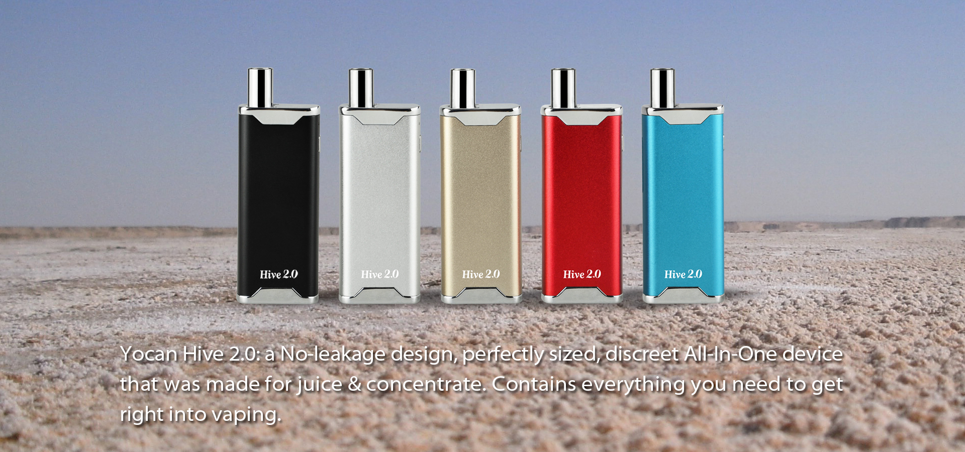 Yocan Hive 2.0 is an All-in-one Device for Juice Or Wax Vape Mod