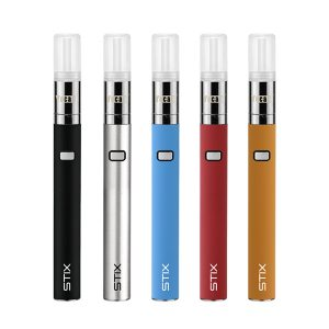 Yocan STIX Starter Vape Pen Kit with five colors.