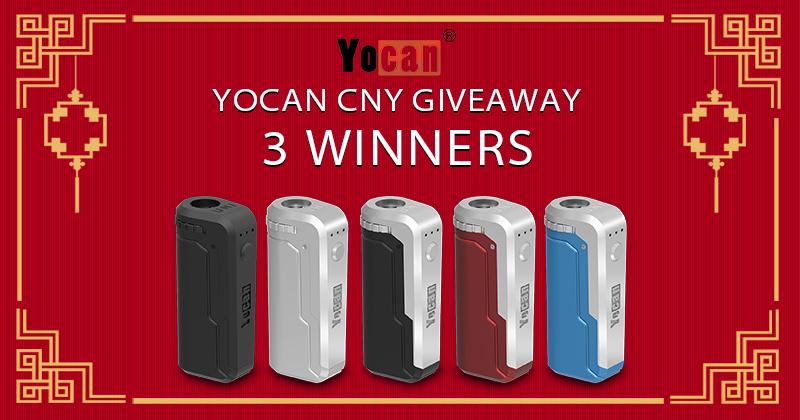 Yocan UNI Box Mod Chinese New Year Giveaway 2019 - 800x420