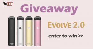 Yocan Evolve 2.0 Vape Pen Giveaway - 21 Feb