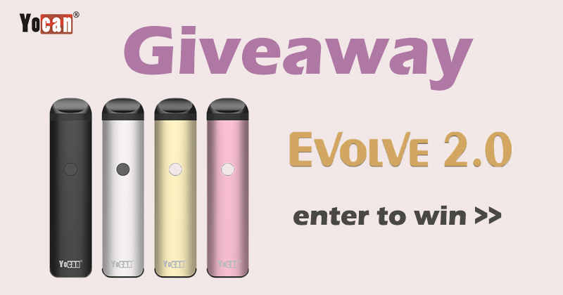 Yocan Evolve 2.0 All-in-one Pod System Giveaway