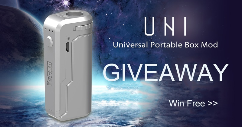 Yocan UNI Box Mod Giveaway [March]