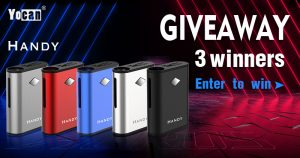 Yocan Handy Box Mod Battery Giveaway [May]