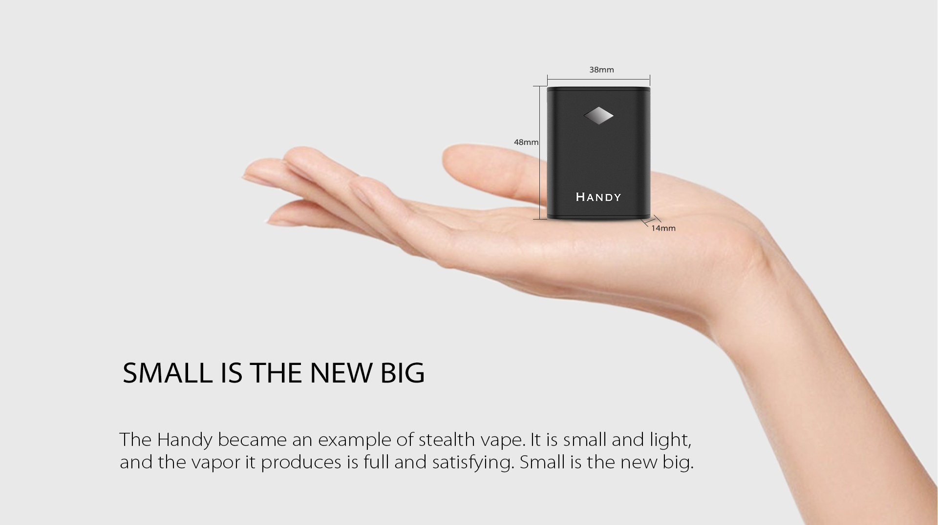 Yocan Handy Vape Battery became an example of stealth vape box mod.