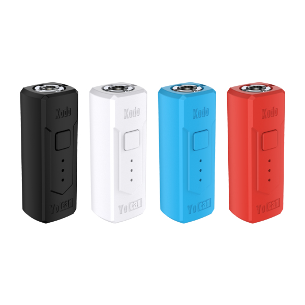 The Yocan Kodo Box Mod Battery is compact, sleek, small and easy to use.
