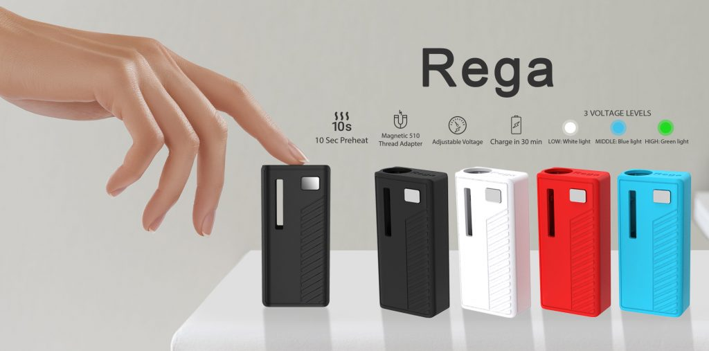 The Yocan Rega Box Mod Battery is a stealth vape with small and light size. Enjoy Your Vaping Life with Yocan Rega Today!
