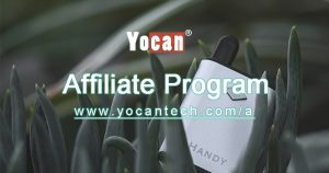 Just 4 steps to join Yocan Affiliate Program