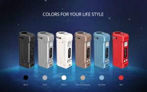 Yocan UNI Pro Box Mod Battery multiple colors for your life style.