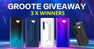 Yocan Groote Box Mod Giveaway 1st Round of Aug
