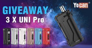 Yocan UNI Pro Mod Giveaway [1st-round]