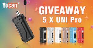 Yocan UNI Pro Vaporizer Universal Box Mod Giveaway [round 2]