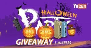 Win Free UNI Pro with Yocan Halloween Vaping Giveaway
