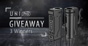 Yocan UNI Pro Thanksgiving giveaway contest