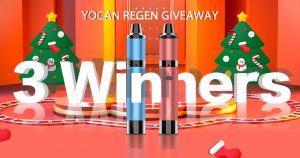 Yocan Regen Christmas Giveaway