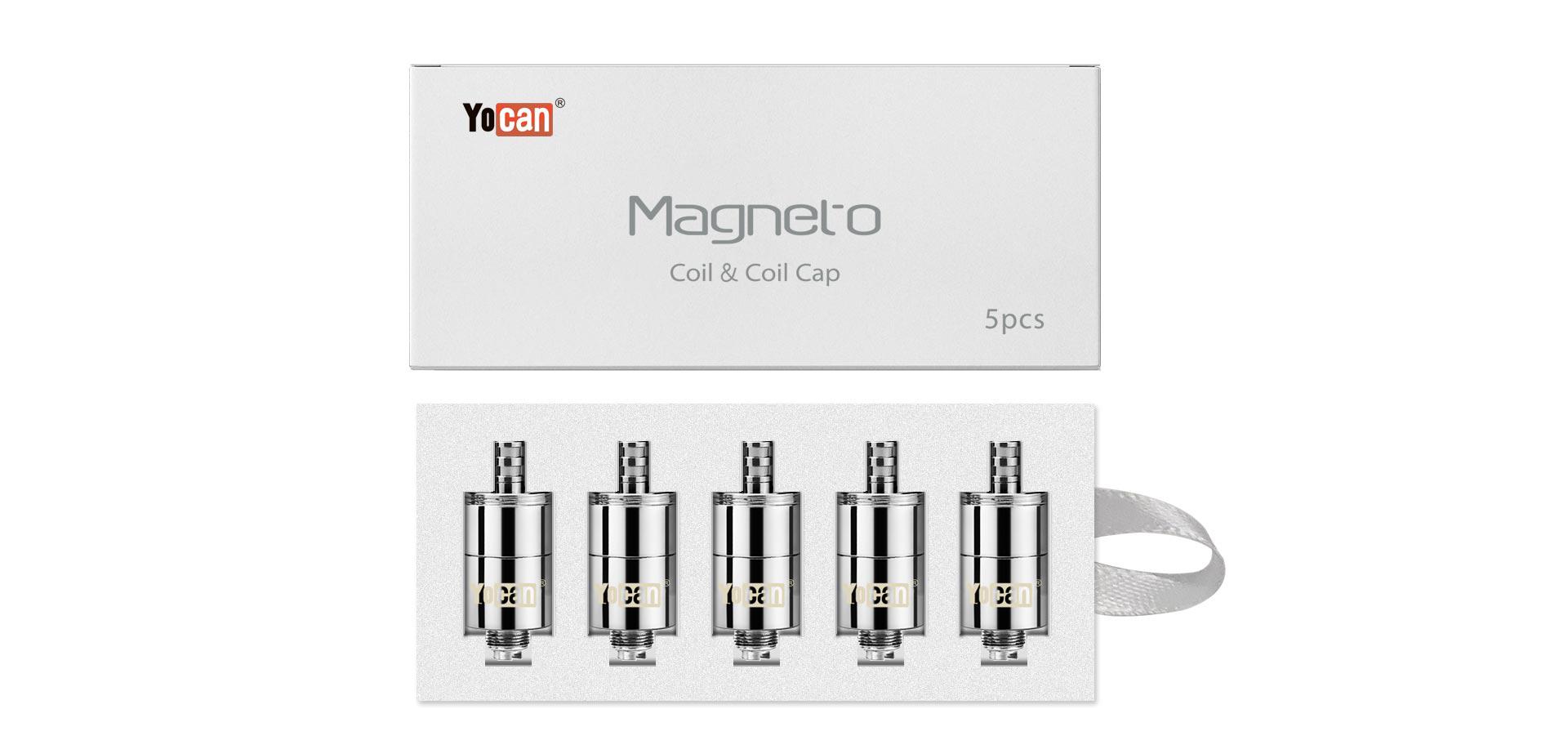Yocan Magneto coil & coil cap - 5 pcs - 2020 version package box - 2