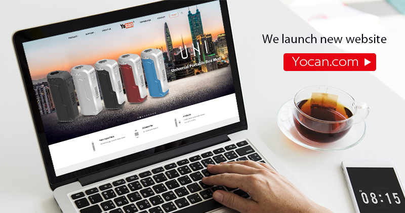 Yocan Launch New Website Official Announce! Yocan.com