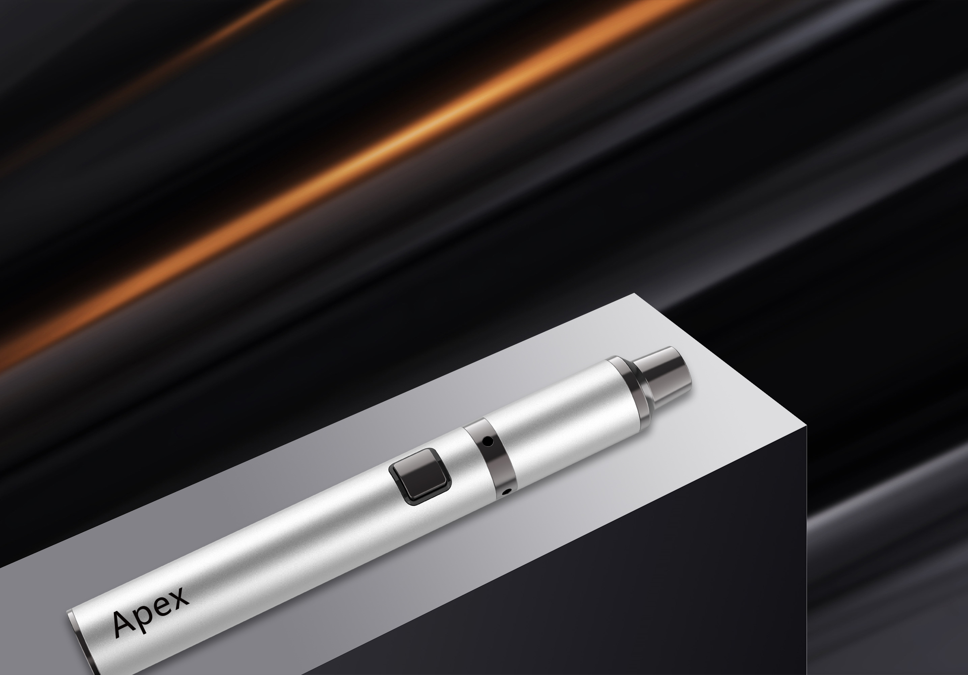 Yocan Apex concentrate vaporizer pen is super compact.