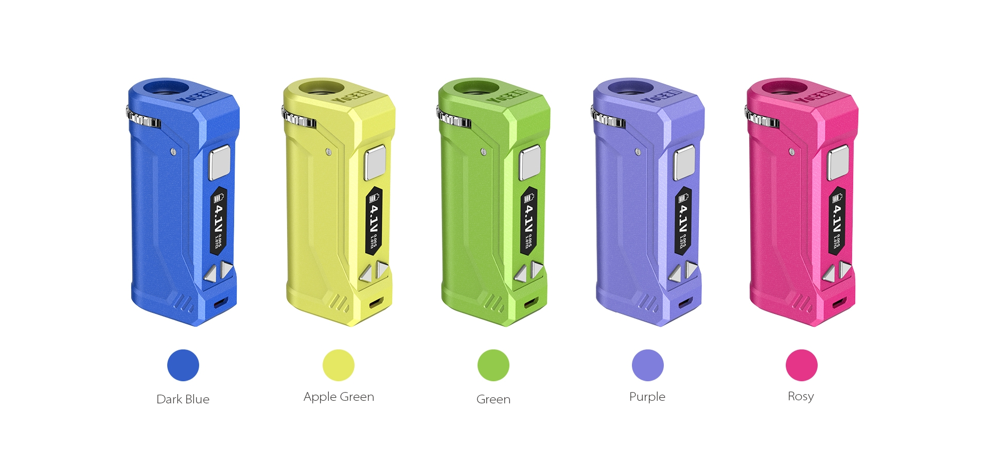 Yocan UNI Pro comes with 5 new colors.
