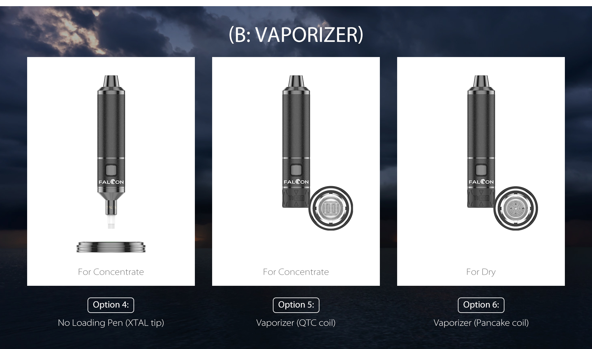 The technology behind the Falcon is advanced compared to other vaporizers on the market.