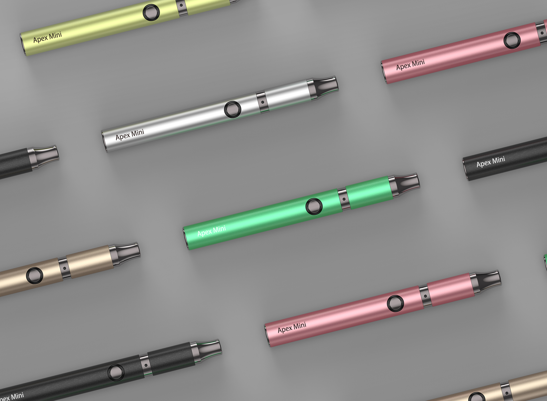 Yocan Apex Mini vape pen is discreet yet effective.
