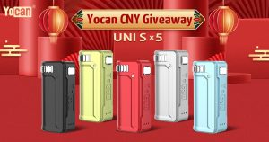 Yocan UNI S giveaway - CNY 2021