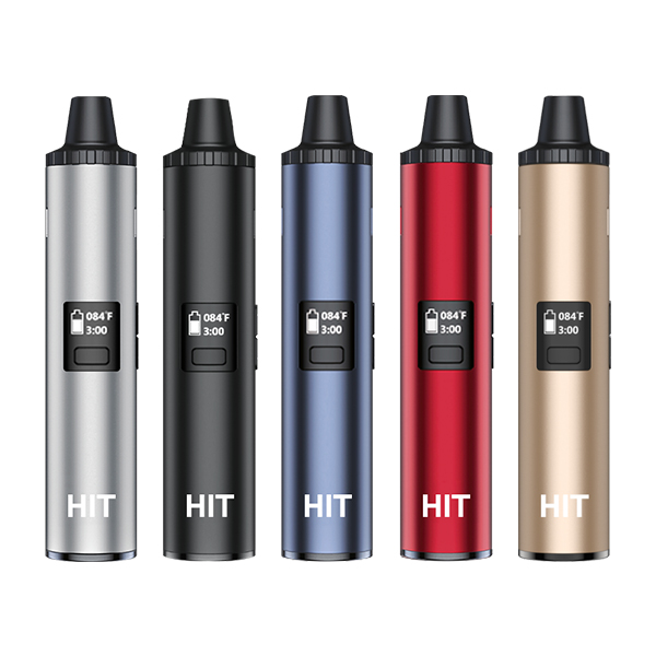 Very small and wonderfully portable, the Yocan Hit is one of few dry herb vape pens on the market.