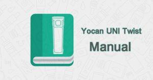 Yocan UNI Twist Universal Portable Mod User Manual Download