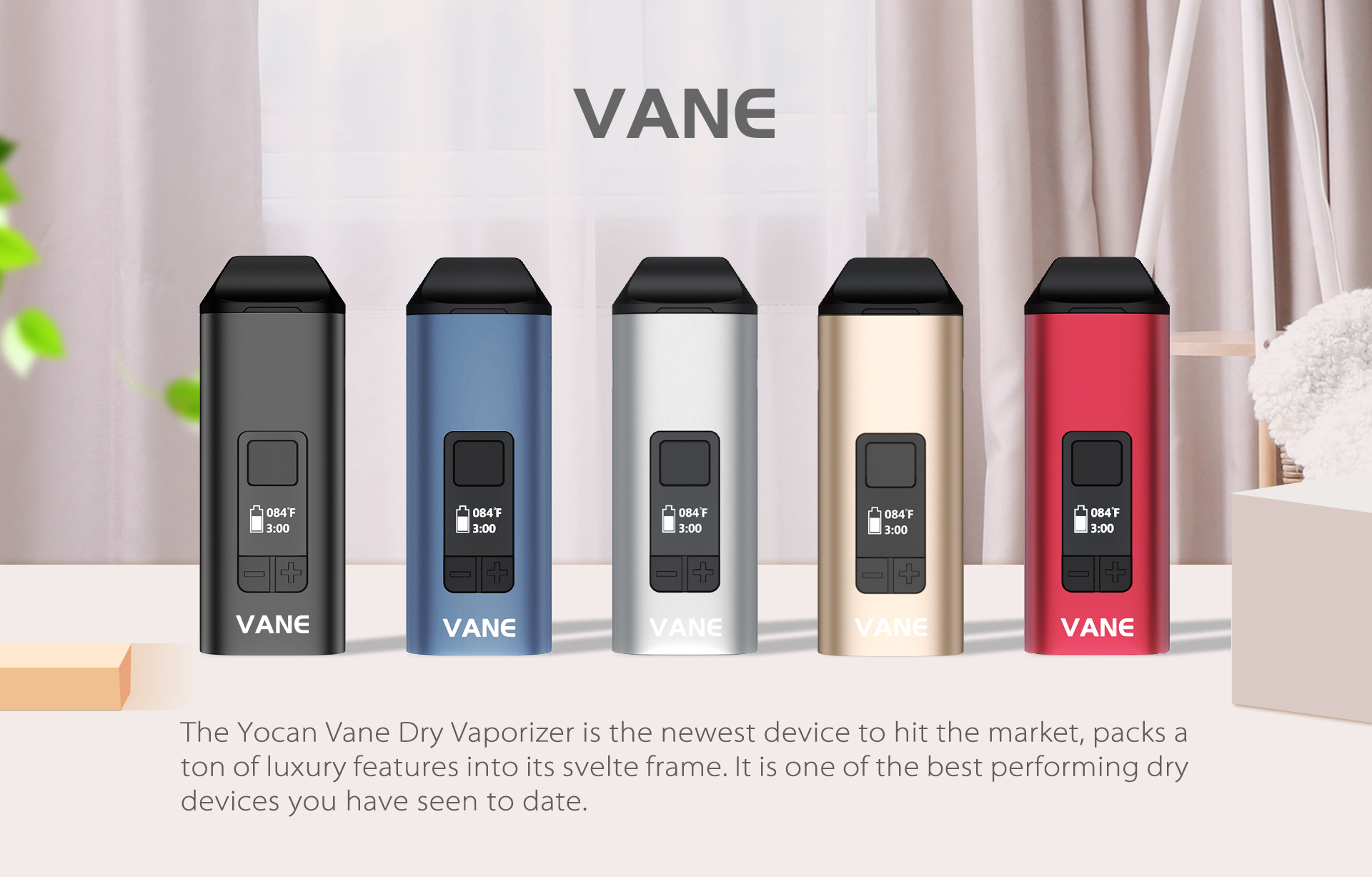 The Yocan Vane Dry Vaporizer is the newest device to hit the market