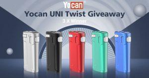 Yocan UNI Twist Universal Portable Mod Giveaway