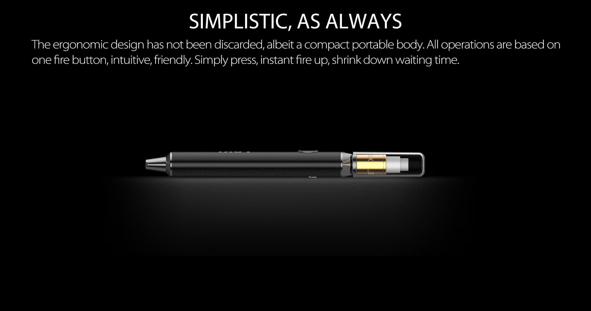 Yocan Loki Vaporizer Pen come with a compact portable body.